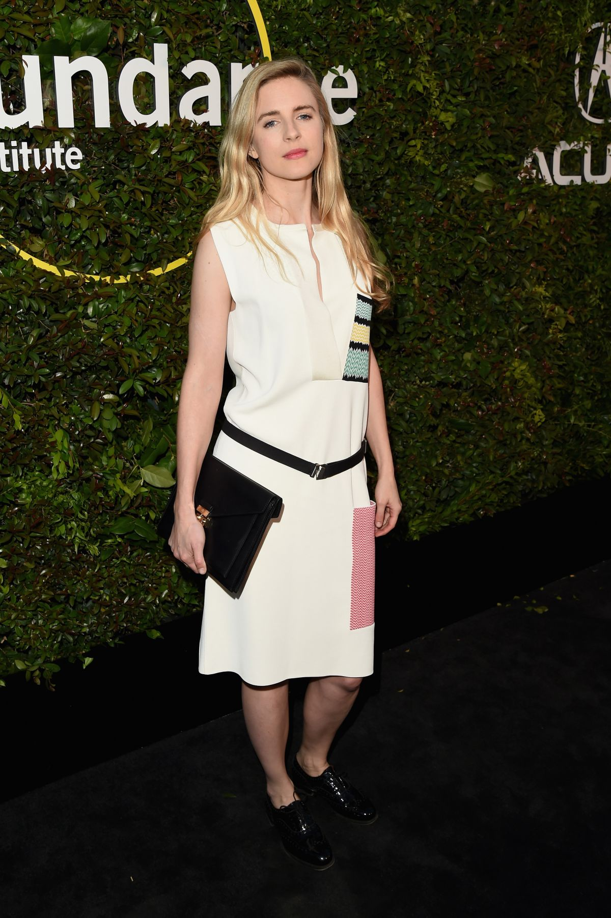 BRIT MARLING at 2015 Sundance Institute Celebration Benefit in Culver City