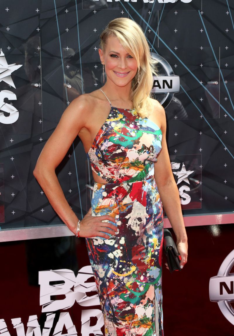 BRITTANY DANIEL at 2015 BET Awards in Los Angeles
