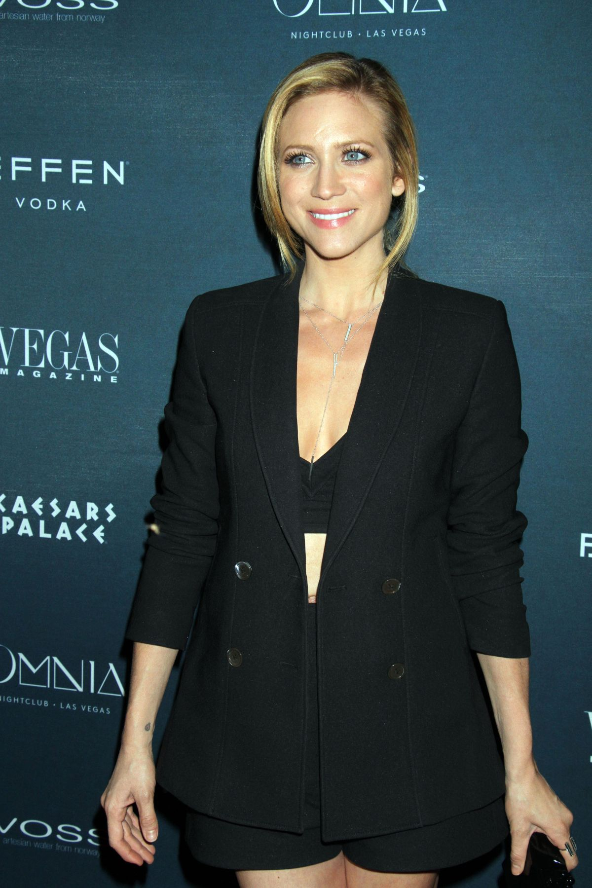 BRITTANY SNOW at Vegas Magazine