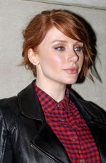 BRYCE DALLAS HOWARD Arrives at Today Show in New York