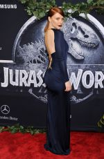 BRYCE DALLAS HOWARD at Jurassic World Premiere in Hollywood