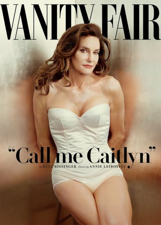 CAITLYN JENNER (Bruce Jenner) on the Cover of Vanity Fair Magazine