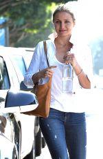 CAMERON DIAZ Leaves Meche Salon in Los Angeles 06/18/2015