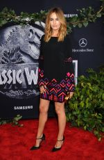 CAMILLA BELLE at Jurassic World Premiere in Hollywood