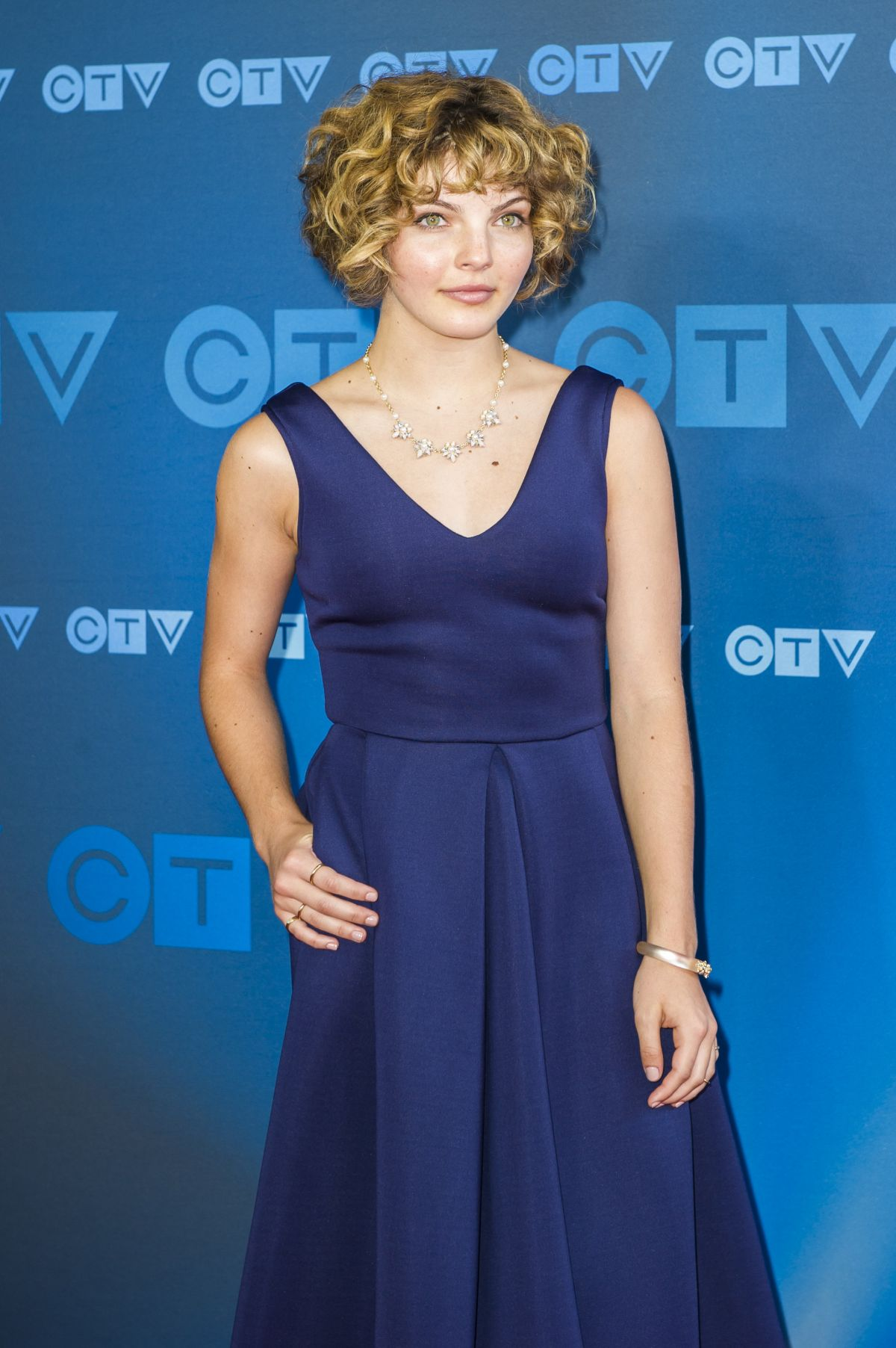 CAMREN BICONDOVA at CTV Upfront in Toronto