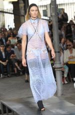 CANDICE SWANEPOEL on the Runway of Givenchy Fashion Show in Paris