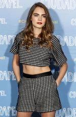 CARA DELEVINGNE at Paper Towns Press Tour in Madrid