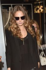 CARA DELEVINGNE Leaves Her Hotel in London 06/18/2015