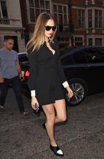 CARA DELEVINGNE Leaves Her Hotel in London 06/19/2015