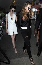 CARA DELEVINGNE Night Out in New York 006/08/2015