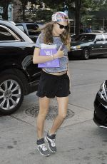 CARA DELEVINGNE Out and About in New York 06/11/2015