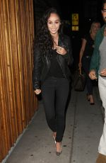 CARA SANTANA Leaves a Club in Hollywood 06/05/2015