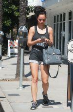 CARA SANTANA Leaves a Gym in Studio City 06/07/2015