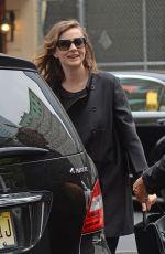 CAREY MULLIGAN Arrives at Golden Theatre in New York 06/18/2015