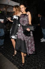 CARLA GUGINO and CONNIE BRITTON Leaves Chateau Marmont in Los Angeles