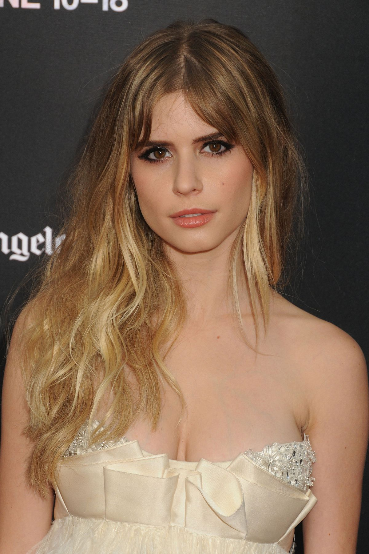 Carlson Young CARLSON YOUNG at Scream Premiere at 2015 LA Film Festival