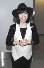 CARLY RAE JEPSEN at Narita International Airport in Tokyo 06/24/2015