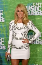 CARRIE UNDERWOOD at 2015 CMT Music Awards in Nashville