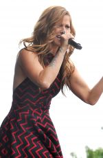 CASSADEE POPE Performs at 2015 Farmborough Country Music Festival in New York