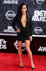 CASSIE VENTURA at 2015 BET Awards in Los Angeles