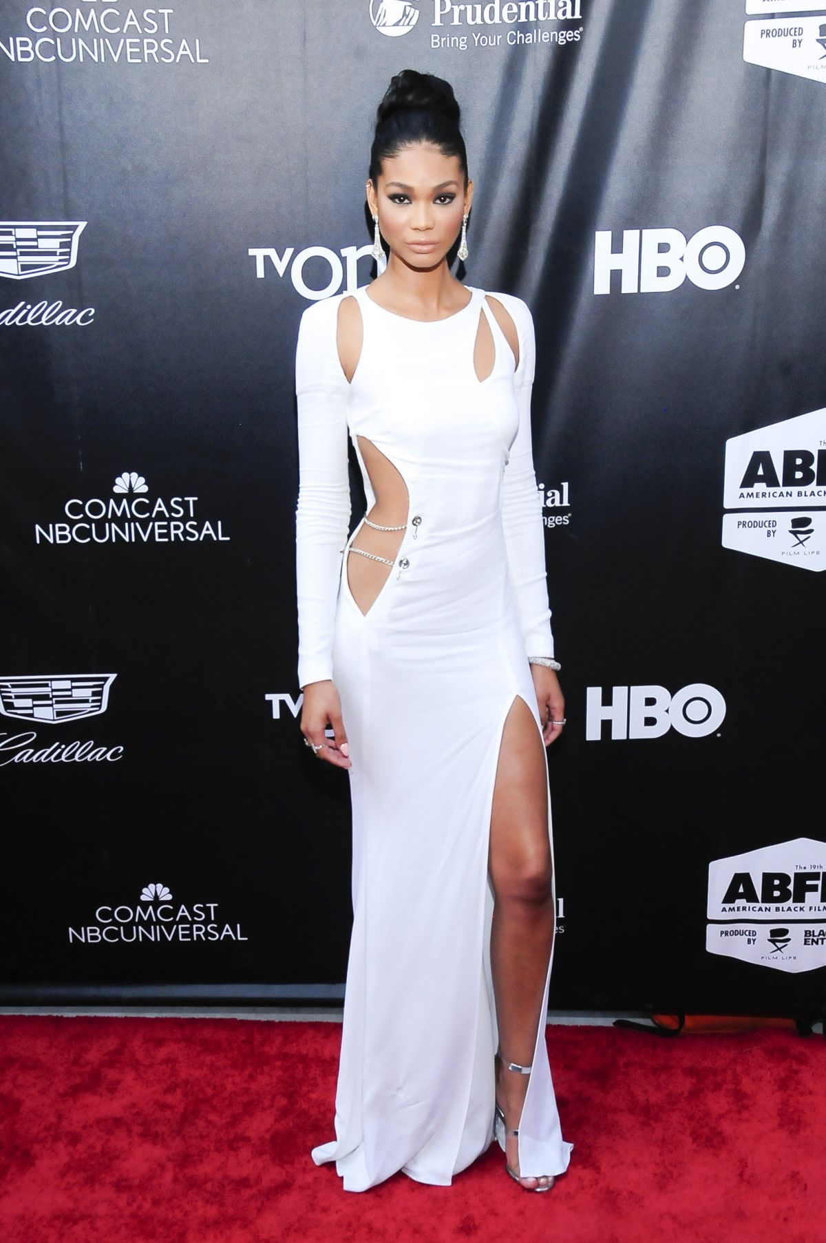 CHANEL IMAN at Dope Opening Night Premiere in New York