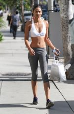 CHANEL IMAN Out and About in West Hollywood 06/02/2015