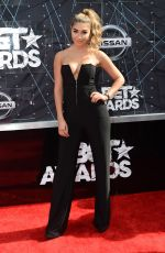 CHANTEL JEFFRIES at 2015 BET Awards in Los Angeles