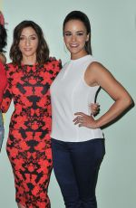 CHELSEA PERETTI and MELISSA FUMERO at Brooklyn Nine-Nine Panel in Los Angeles