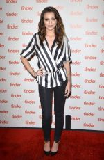 CHER LLOYD at Tinder Plus Launch Party in Santa Monica