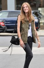CHIARA FERRAGNI Out and About in Los Angeles 06/09/2015