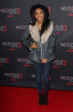 CHINA ANNE MCCLAN at Insidious Chapter 3 Premiere in Hollywood