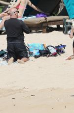CHLOE BRIDGES in Bikini at a Beach in Hawaii 06/04/2015