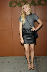 CHLOE MORETZ at 2015 Coach and Friends of the High Line Summer Party in New York