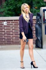 CHLOE MORETZ Out and About in New York 06/22/2015