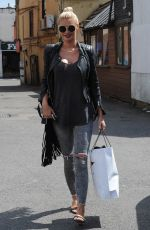 CHLOE SIMS Out and About in Brentwood 06/24/2015