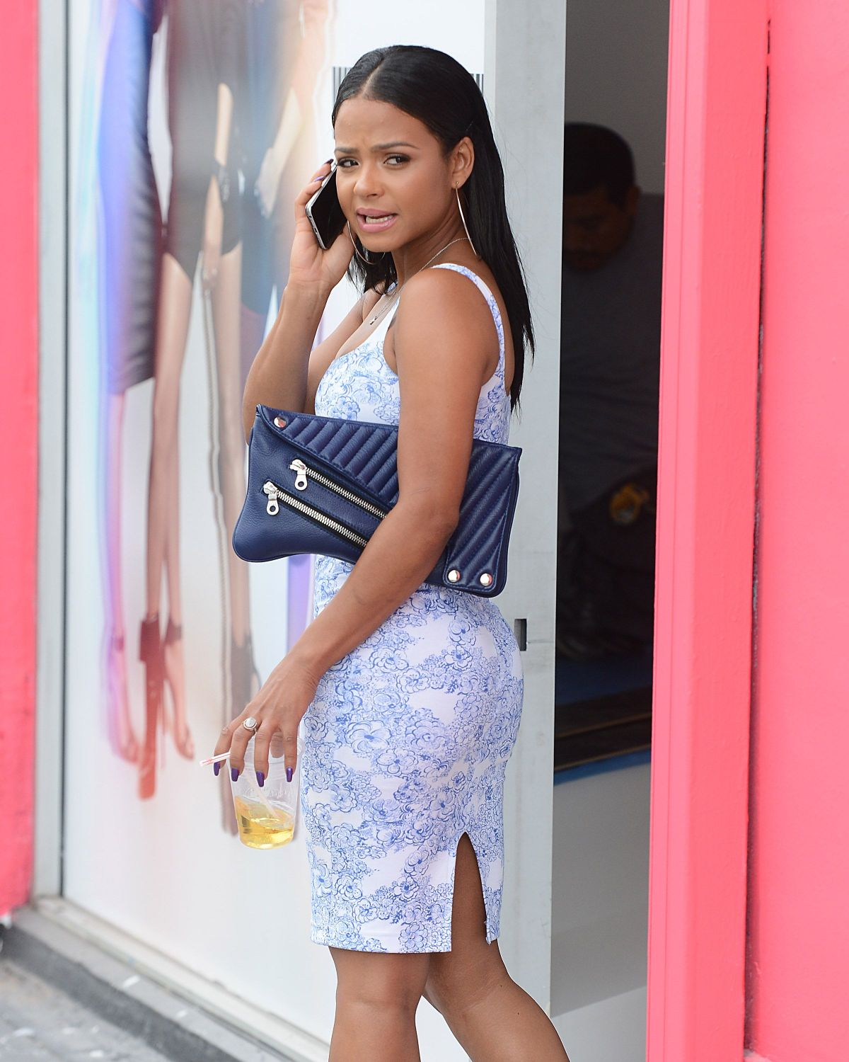 CHRISTINA MILIAN at Her We Are Pop Culture Pop Up Shop in Los Angeles 06/27/2015