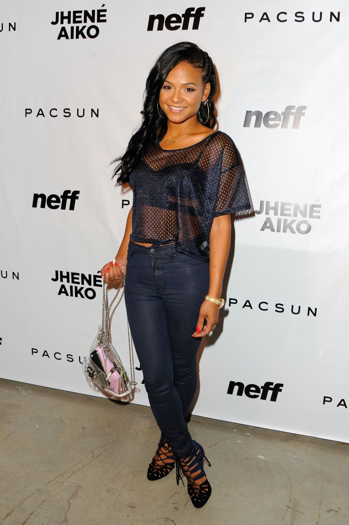 CHRISTINA MILIAN at Jhene Aiko