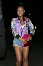 CHRISTINA MILIAN in Daisy Duke Night Out in West Hollywood 06/22/2015