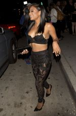 CHRISTINA MILIAN Leaves Mr. Chow in Los Angeles 06/28/2015