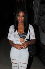 CHRISTINA MILIAN Night Out in Hollywood 06/25/2015