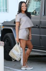 CHRISTINA MILIAN Out and About in Hollywood 06/02/2015