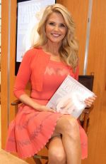 CHRISTINE BRINKLEY at Bookexpo America in New York