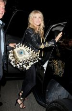 CHRISTINE BRINKLEY Leaves Chateau Marmont in West Hollywood