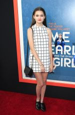 CIARA BRAVO at Me & Earl & The Dying Girl Premiere in Los Angeles