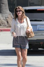 CINDY CRAWFORD Out and About in Malibu 06/24/2015