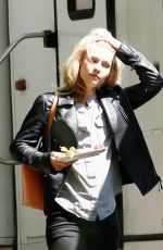 CLAIRE DANES Arrives on the Set of Homeland in Berlin 06/12/2015