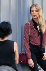 CONSTANCE JABLONSKI on the Set of a Photoshoot in New York 06/10/2015