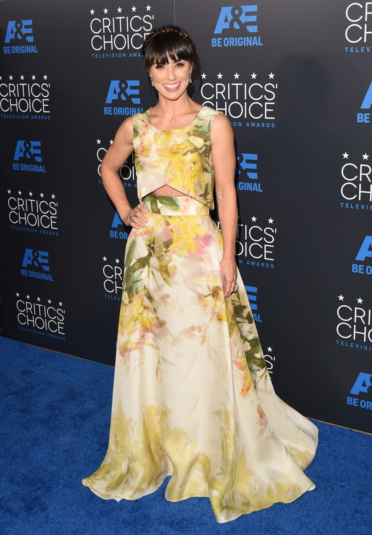 CONSTANCE ZIMMER at 5th Annual Critics Choice Television Awards in Beverly Hills