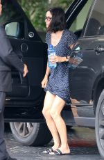 COURTNEY COX Out and About in Beverly Hills 06/04/2015