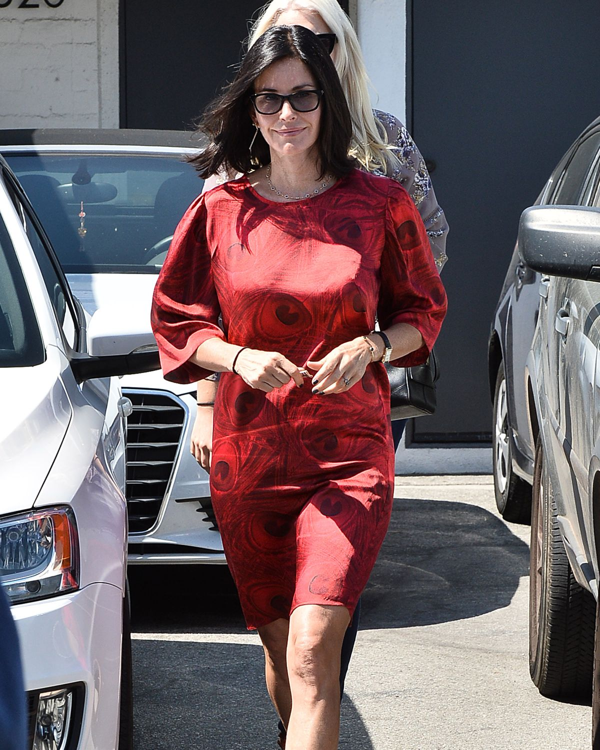 COURTNEY COX Out and About in Los Angeles 06/02/2015